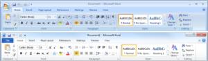 Office 2007和2010的功能区